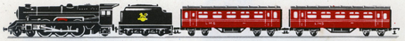 Electric Train Set (Princess Passenger LMS)