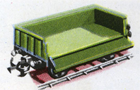 Goods Wagon with Drop Sides