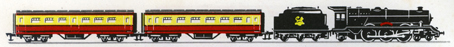 Electric Train Set (Princess Passenger BR)