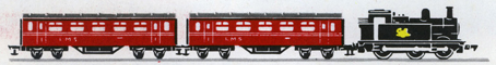 Electric Train Set (0-6-0 Passenger LMS)