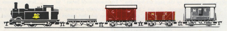 Electric Train Set (0-6-0 Goods)