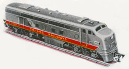 Transcontinental Diesel Locomotive