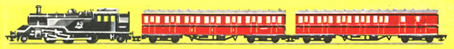 Train Set (2-6-2 Passenger)