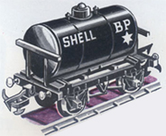 Shell - B.P. Fuel Oil Tank Wagon