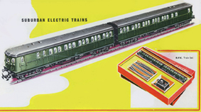 Suburban Electric Train Set