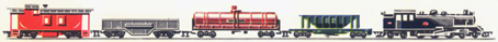 Transcontinental Train Set (4-6-4 Goods)
