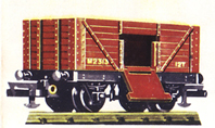 Goods Wagon with Drop Doors