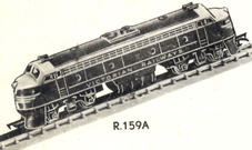 Double-ended Diesel Locomotive (VICTORIAN RAILWAYS) (Aust)