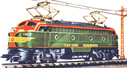 Double-ended Diesel Locomotive With Working Pantographs (TRI-ANG RAILWAYS)