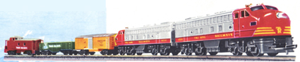 Transcontinental Train Set (Diesel Freight)