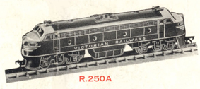 Double-ended Diesel Locomotive - Non Powered (VICTORIAN RAILWAYS) (Aust)