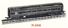 Transcontinental Coach - Victorian Railways (Aust)