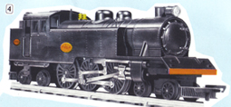 4-6-4 Tank Locomotive