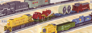 Diesel Freight Train Set