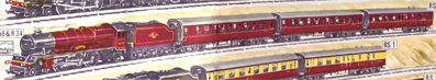 Express Passenger Train Set