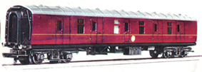 B.R. Full Parcels Brake Coach
