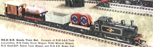 B.R. Goods Train Set