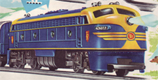Transcontinental Diesel Locomotive (TR Shields)