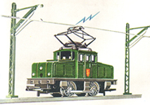 Steeple Cab Locomotive