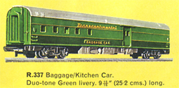 Transcontinental Baggage/Kitchen Car