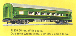 Transcontinental Diner Car