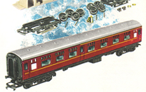B.R. Full Parcels Brake Coaches x 2 - Assembly Pack