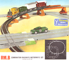 Combination Railways/Motorways Set