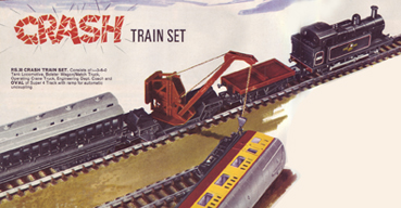 Crash Train Set