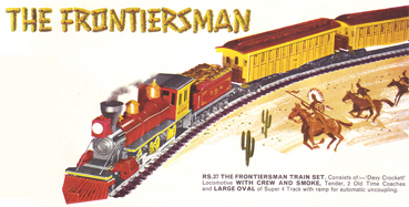 The Frontiersman Train Set