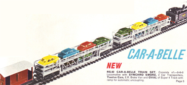 Car-A-Belle Twelve Car Set