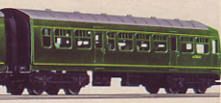Diesel Trailer Car - Unpowered
