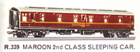 B.R. Second Class Sleeping Car