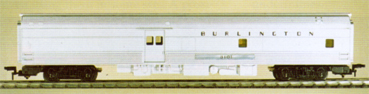 Burlington Baggage/Kitchen Car