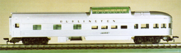 Burlington Observation Car