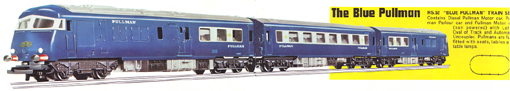 Blue Pullman Train Set