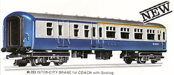 B.R. Inter-City Brake First Coach
