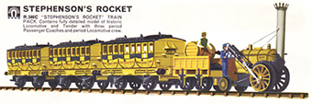 Stephensons Rocket Train Pack