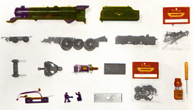 Class 8P Locomotive - Princess Elizabeth - Assembly Pack