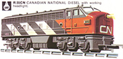 Canadian National Diesel Locomotive