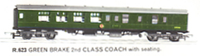 B.R. Brake 2nd Class Coach