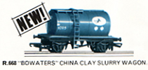 Bowaters China Clay Slurry Wagon