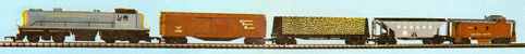 Canadian Pacific Diesel Freight Set (Canada)