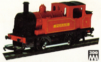 0-4-0 Industrial Locomotive - Polly