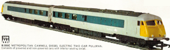 Diesel Electric Two Car Pullman