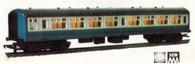 B.R. Inter-City Second Class Coach