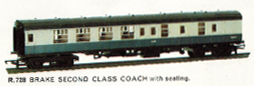B.R. Brake Second Class Coach