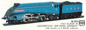 Class A4 Locomotive - Sir Nigel Gresley