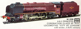 Coronation Class 8P Locomotive - City Of London