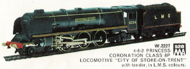 Coronation Class 8P Locomotive - City Of Stoke On Trent