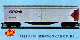 C.P. Rail Refrigeration Car (Canada)